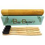 4 cepillos de dientes de bambú Boo Brush