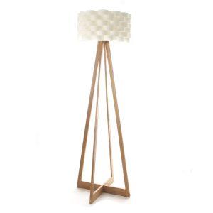 lampara bambú de pie