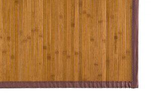 alfombra color miel de bambú 80 x 150 cm