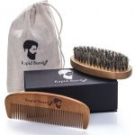 Peine barba y cepillo barba