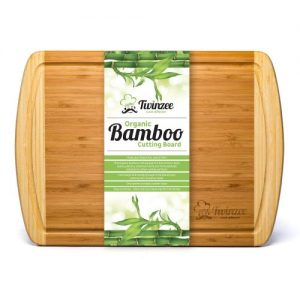 Esta tabla de cortar es una tabla de bambú