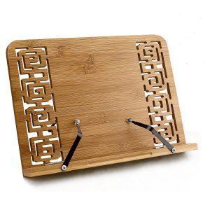 Atril de madera de bambú
