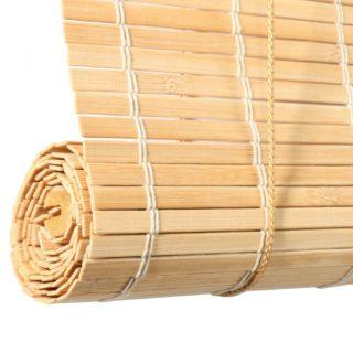 persiana de madera enrollable