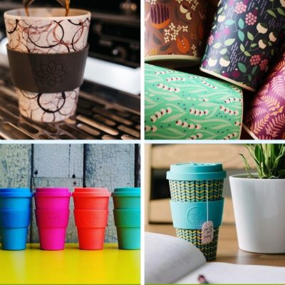 Collage tazas Ecoffee Cup