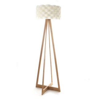 Lámparas de bambú de pie
