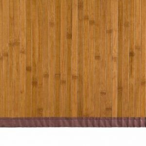 alfombra bambú color miel 80 x 150 cm