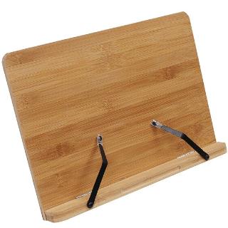 Atril de madera de bambu