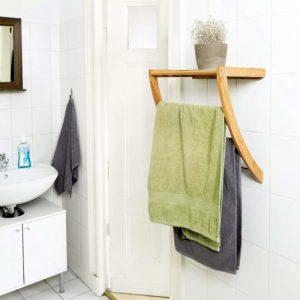 estanteria baño toallera