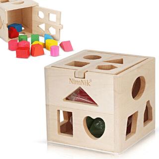 Juguetes de madera de bambu